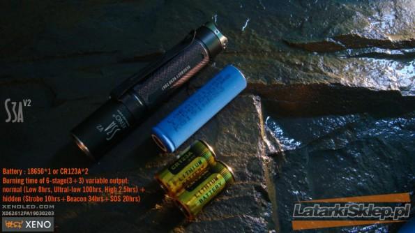 latarki xeno s3a